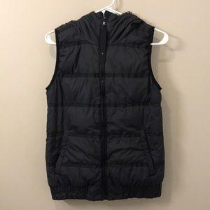 Lululemon black reversible down filled vest!